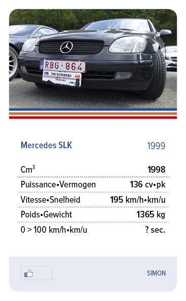 Mercedes SLK 1999 - SIMON