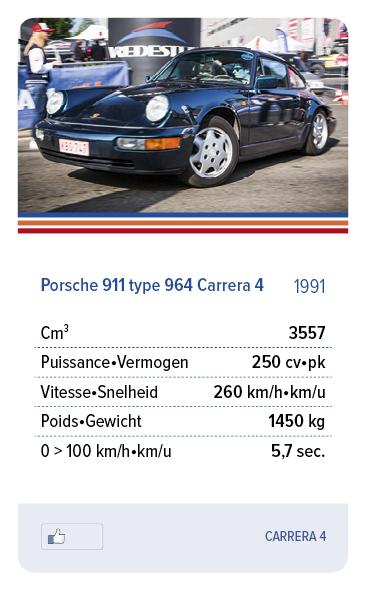 Porsche 911 type 964 Carrera 4 1991 - CARRERA 4