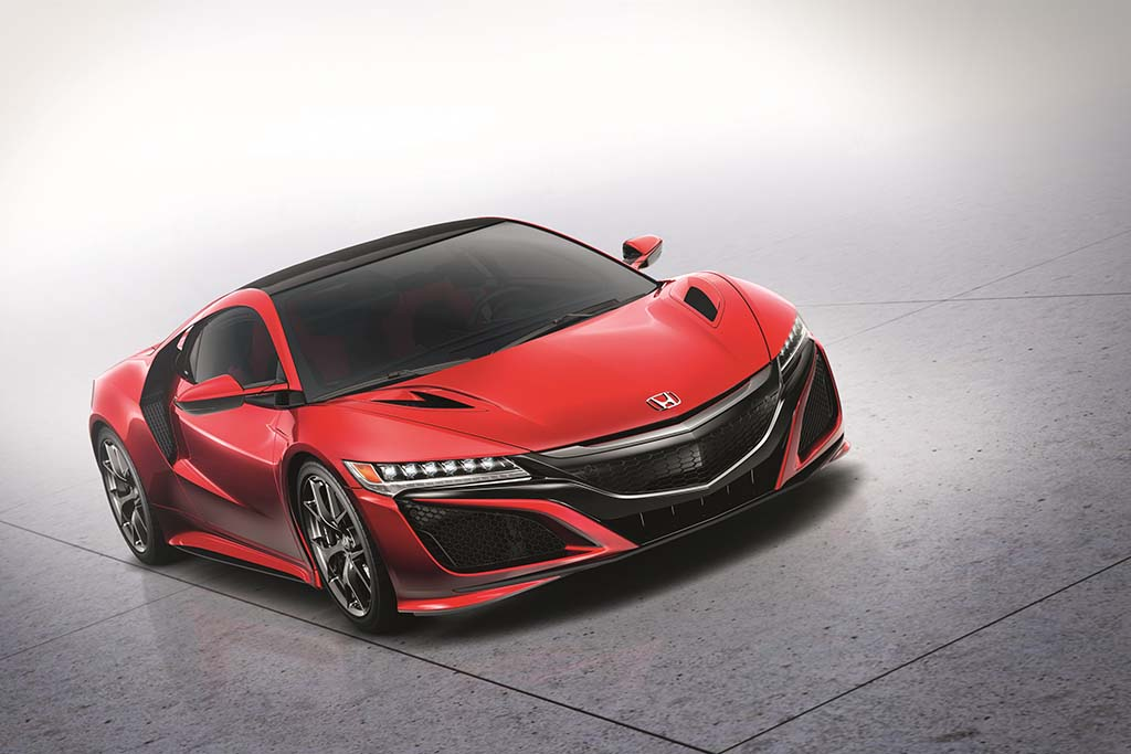 honda nsx 2016 tout savoir moniteur automobile. Black Bedroom Furniture Sets. Home Design Ideas