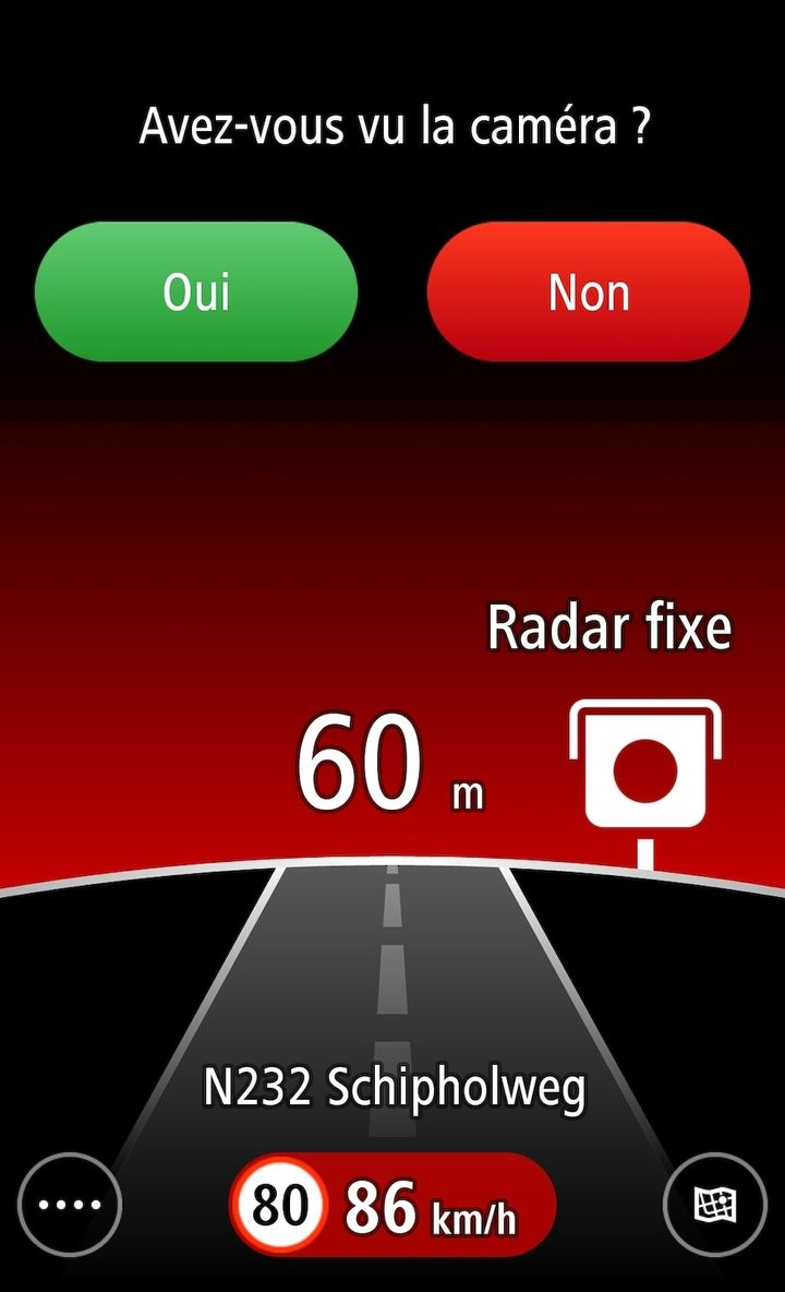 tomtom radars avertisseur gratuit sur android moniteur automobile. Black Bedroom Furniture Sets. Home Design Ideas