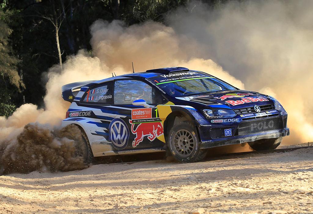Ogier (VW Polo R WRC) - Australia 2015