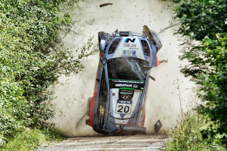Crash WRC Finland 2015