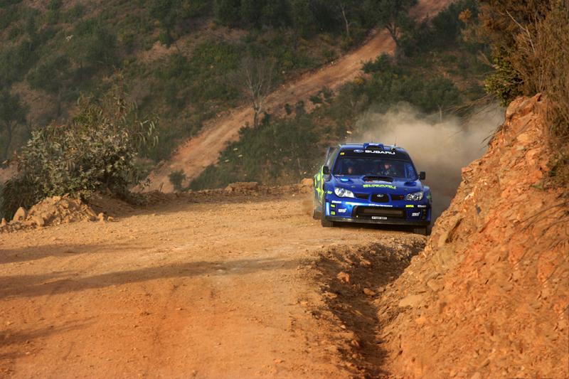 Portugal 2007 - Solberg (Subaru WRC)