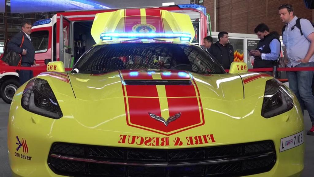 Corvette Fire & Rescue - Dubai