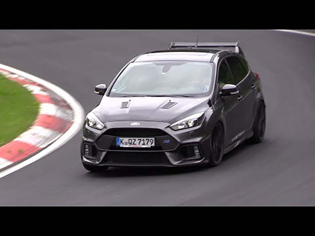 2018 ford focus rs500 nordschleife autowereld. Black Bedroom Furniture Sets. Home Design Ideas