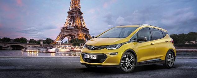 Paris 2016 - Opel Ampera-E
