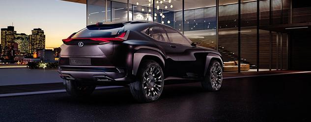 Paris 2016 - Lexus UX Concept