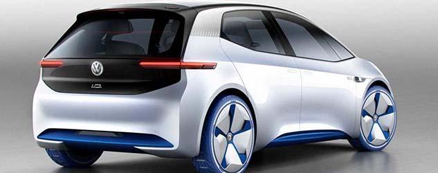 VW ID EV Concept Paris 2016