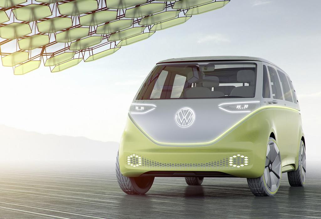 2017 VW ID BUZZ CONCEPT
