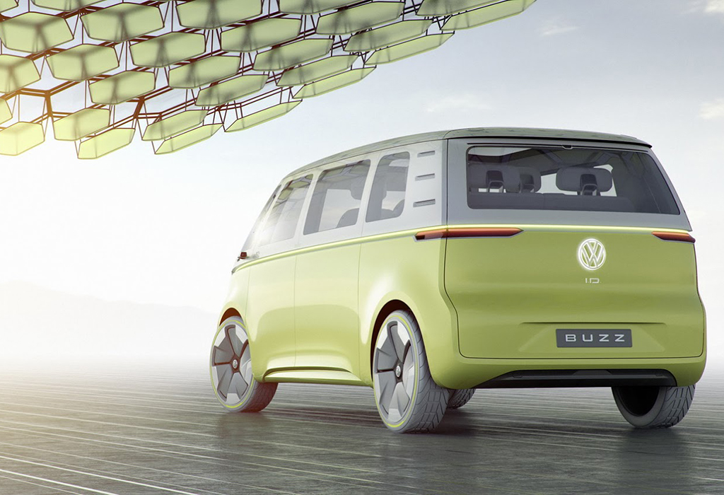 VW ID BUZZ CONCEPT 2017