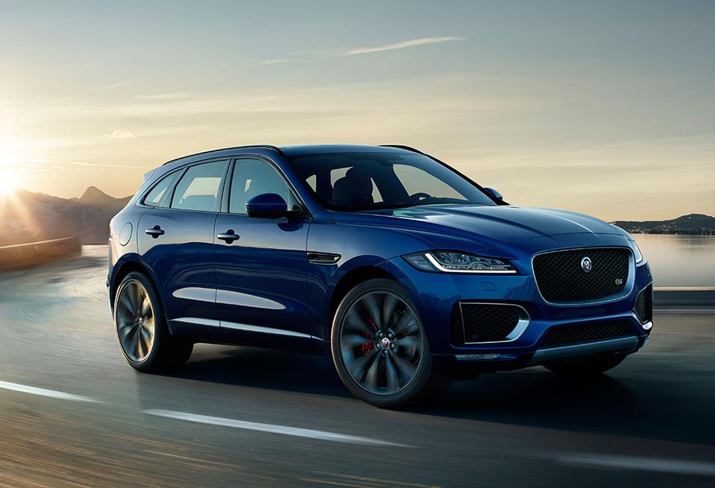 Jaguar F-Pace autosalon brussel