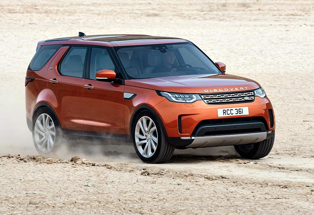 Land Rover Disco autosalon brussel