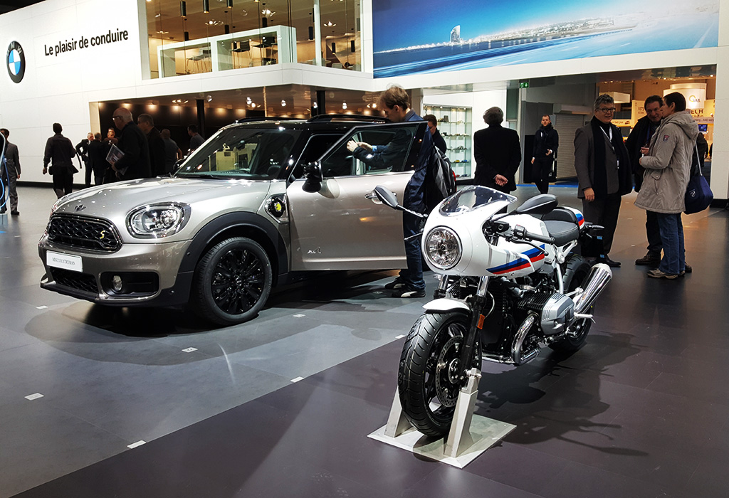 Mini Countryman autosalon brussel 2017