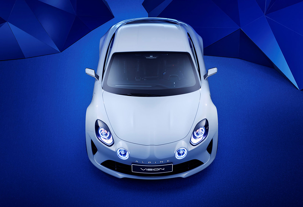Alpine Vision Concept A120 - dream cars brussel