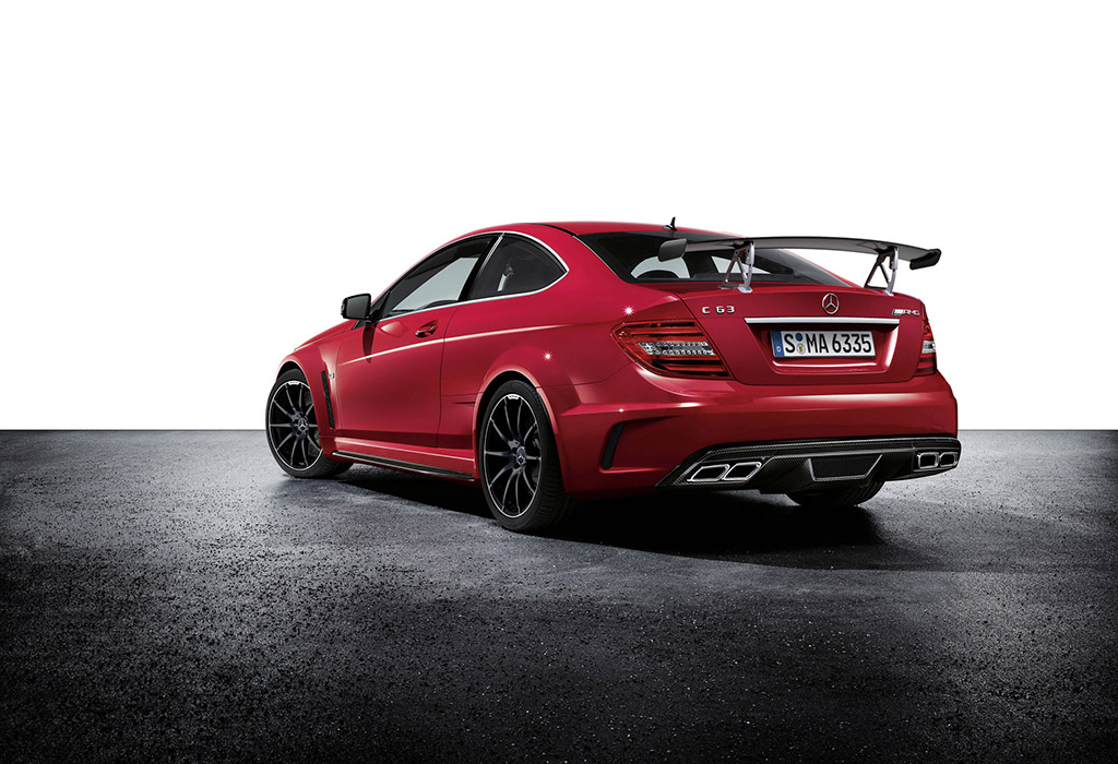 Mercedes C 63 AMG Black Series