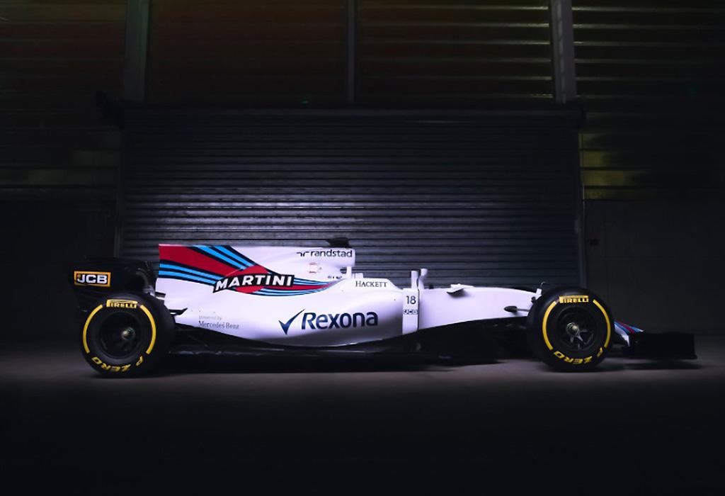 F1 2017 Williams Fw40 Mercedes Heimwee Naar De Grote