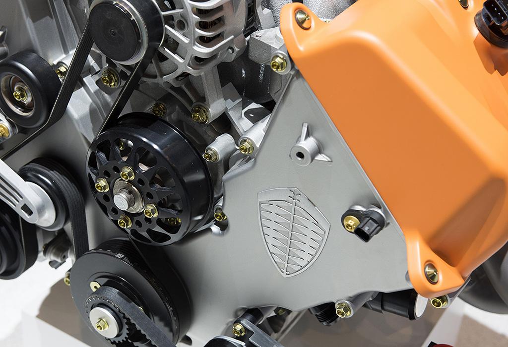 Spyker C8 Preliator - Koenigsegg V8