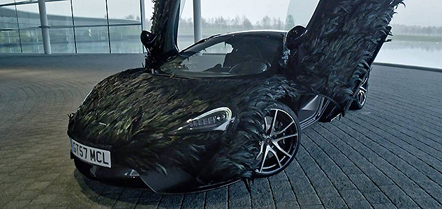 McLaren 570GT feather wrap