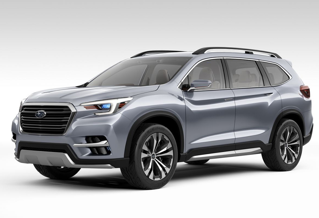 2017 Subaru Ascent SUV Concept - New York