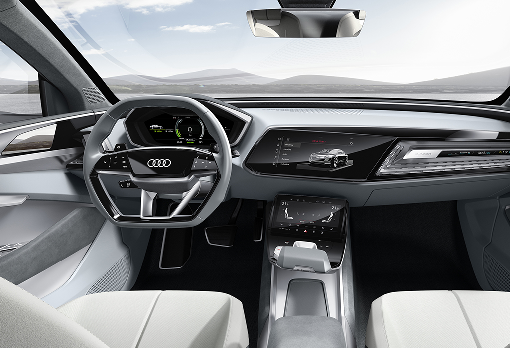 Audi E-Tron Sportback Concept is elektro-GT - Shanghai ...