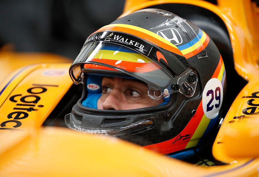 Alonso McLaren-Honda-Dallara (Andretti Motorsport)