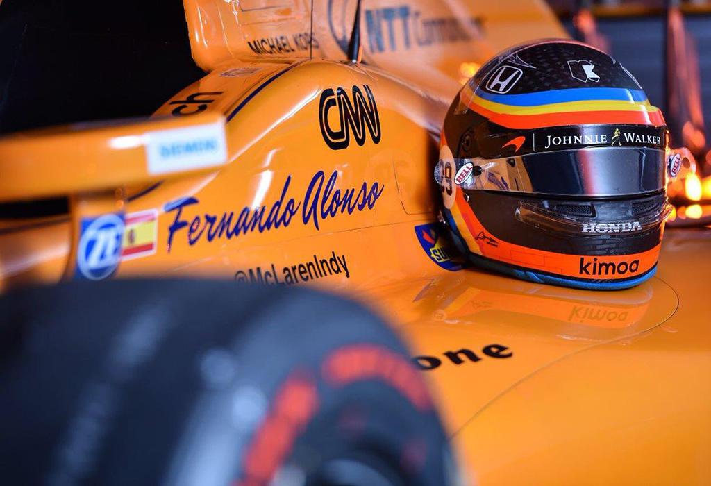 Alonso McLaren-Dallara-Honda - Indy 500