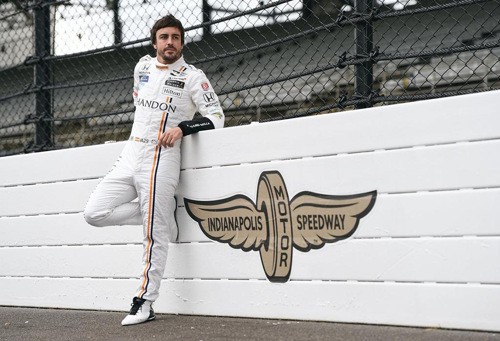 Fernando Alonso McLaren Indy 500