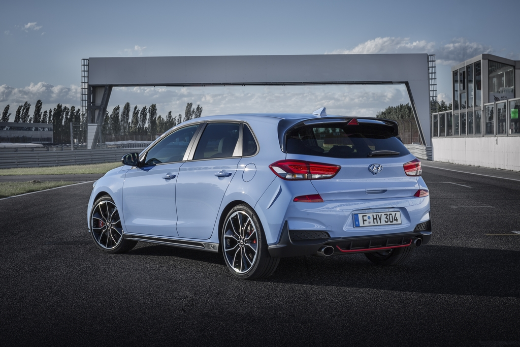 Hyundai I30 N Krijgt Blauworanje Wrc Kleuren Autowereld