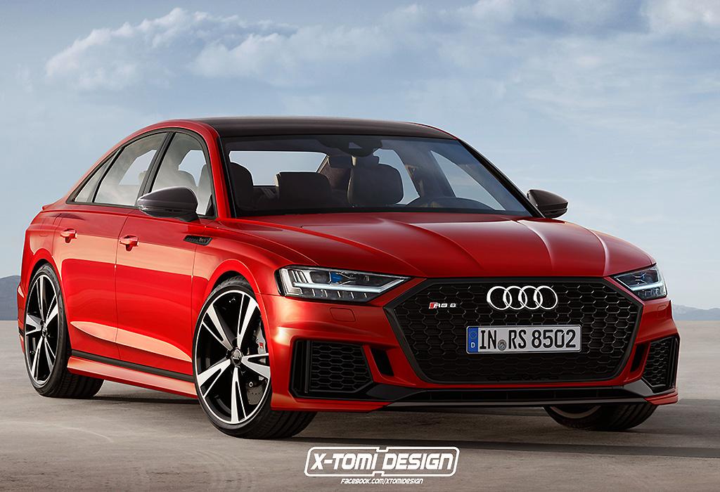Audi A8 - RS8 Quattro