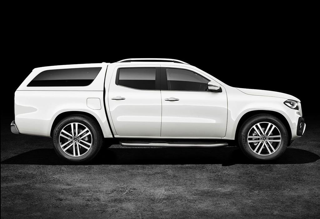 mercedes x klasse pick up op nissan basis autowereld. Black Bedroom Furniture Sets. Home Design Ideas