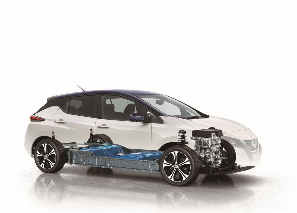 nieuwe nissan leaf zet in op elektrische aandrijving autonoom rijden en connectiviteit autowereld. Black Bedroom Furniture Sets. Home Design Ideas