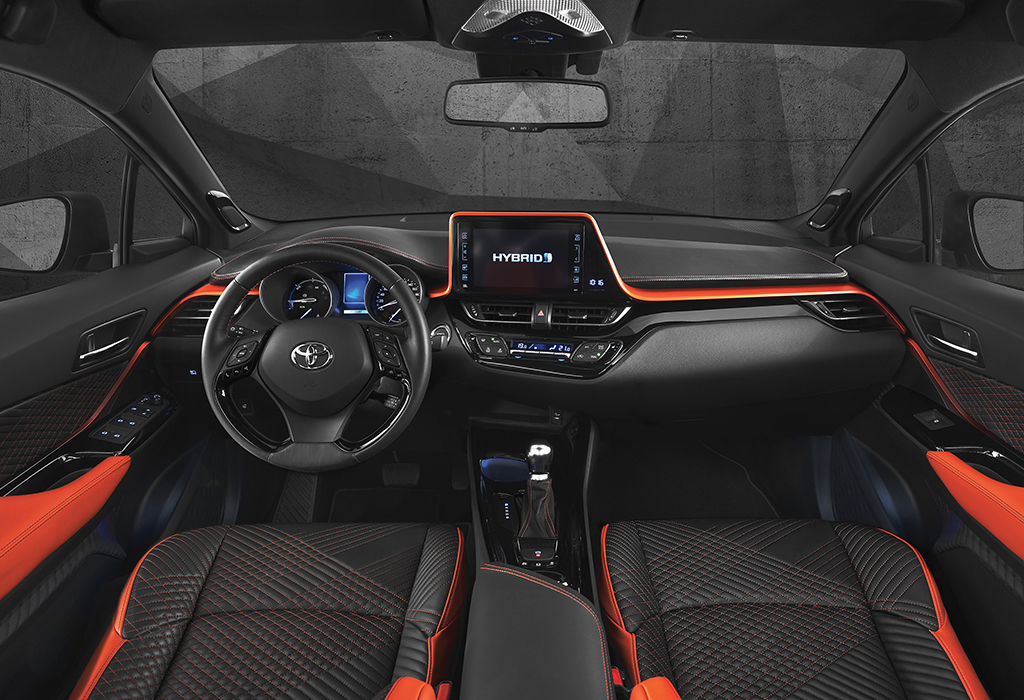 iaa 2017 toyota c hr hy power concept autowereld. Black Bedroom Furniture Sets. Home Design Ideas