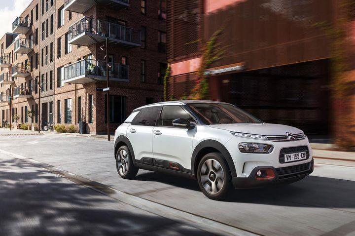2018 Citroën C4 Cactus facelift