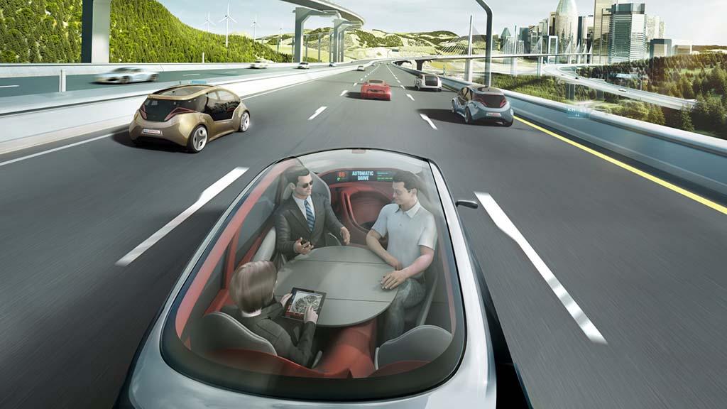 les 5 niveaux de la voiture autonome - moniteur automobile