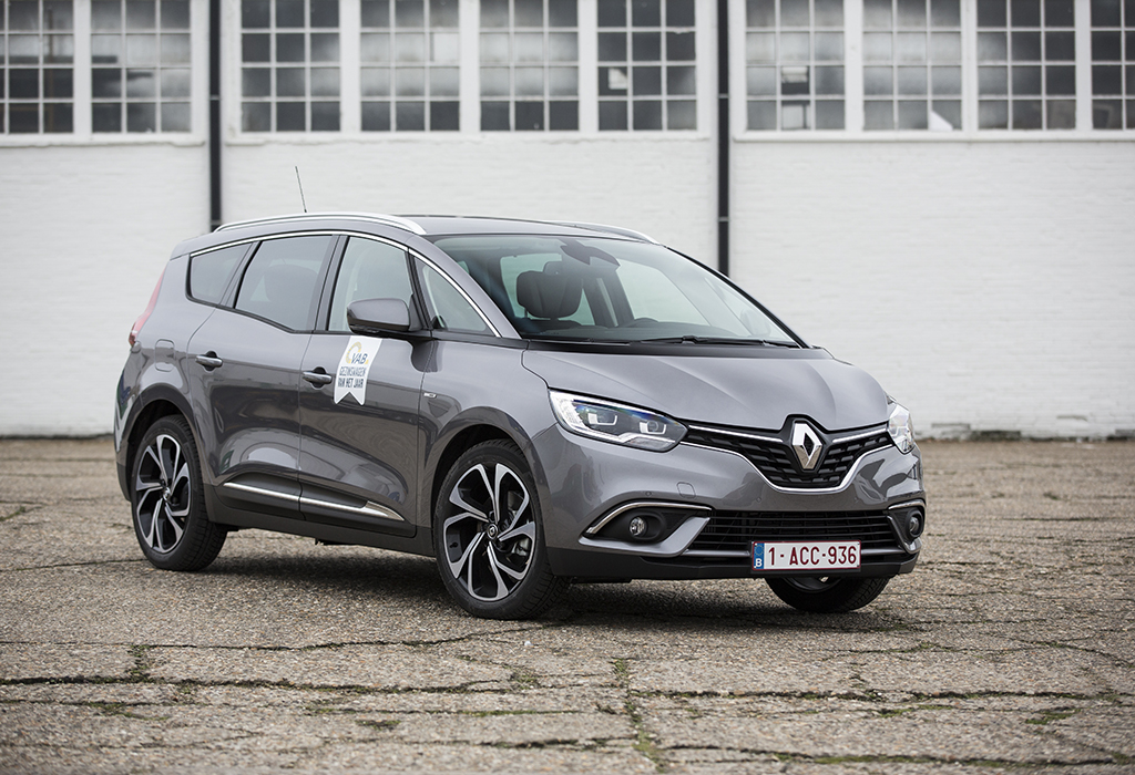 VAB-Gezinswagen 2018 - Renault Grand Scénic