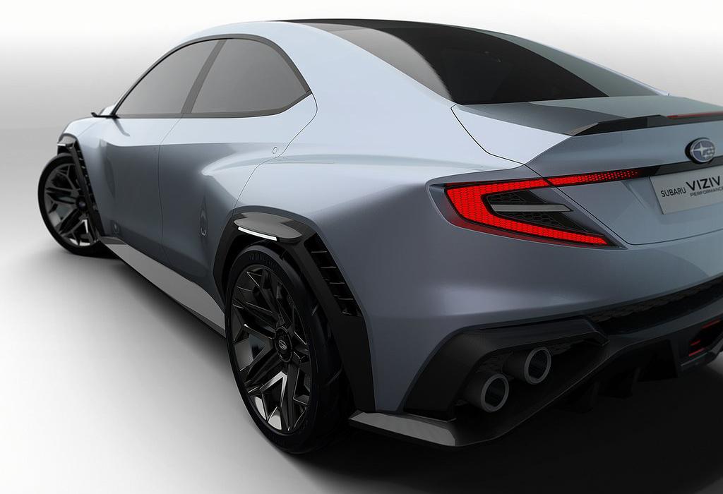 Subaru VIZIV Performance Concept - WRX STI