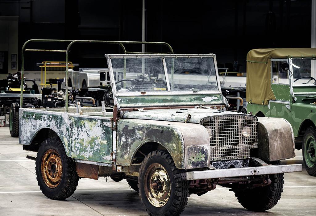 Land Rover Series 1 - prototype restoration