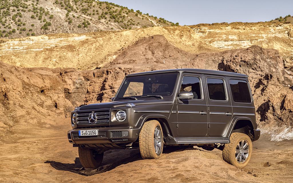 Mercedes dévoile son tout nouveau Classe G