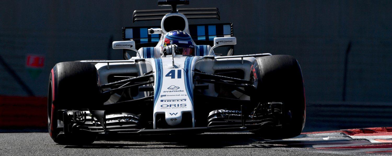 Test Williams F1 2017 - Sergey Sirotkin