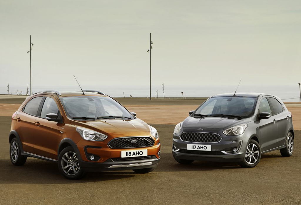 Facelift Ford Ka+ Active