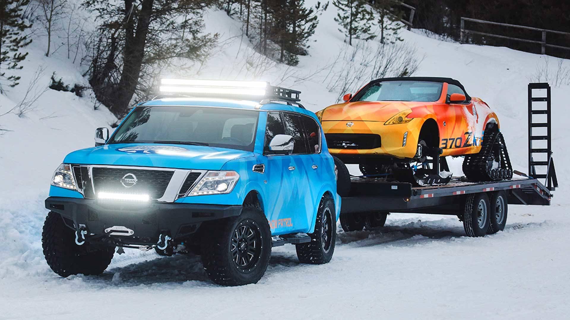 Nissan Armada Snow Patrol & 370Zki Cabrio