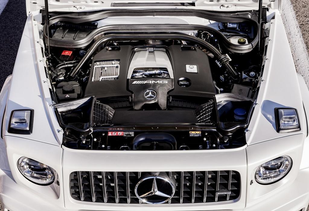 2018 Mercedes-AMG G63 V8-biturbo