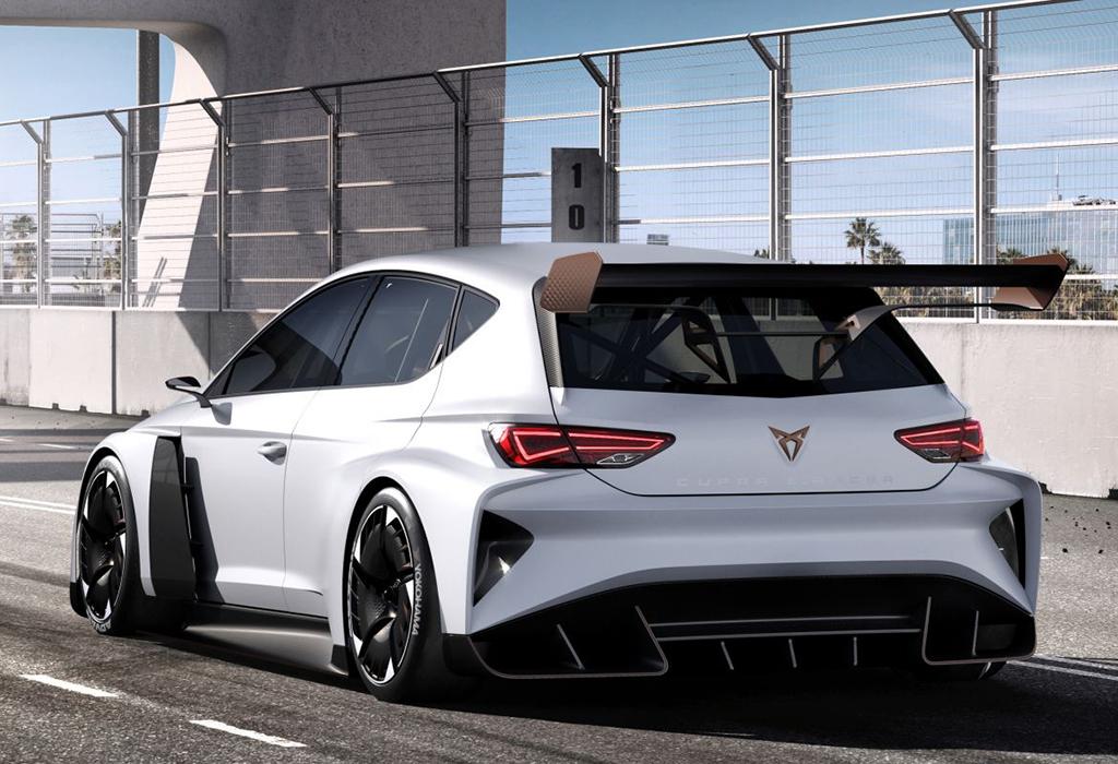 2018 Cupra E-Racer Concept