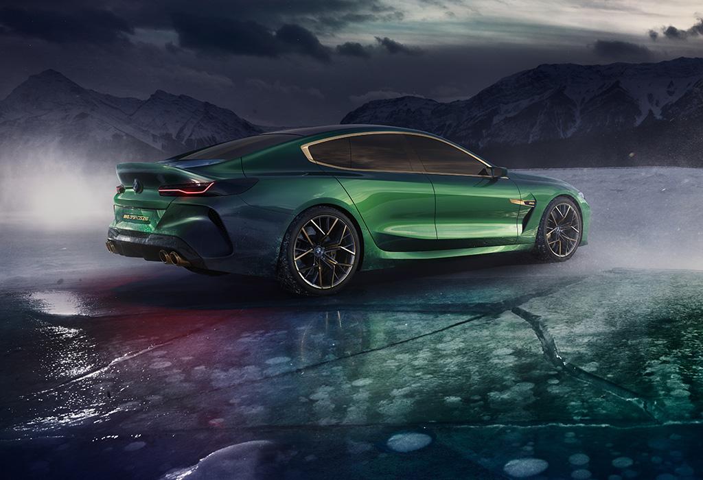 2018 BMW M8 Gran Coupé Concept Geneva