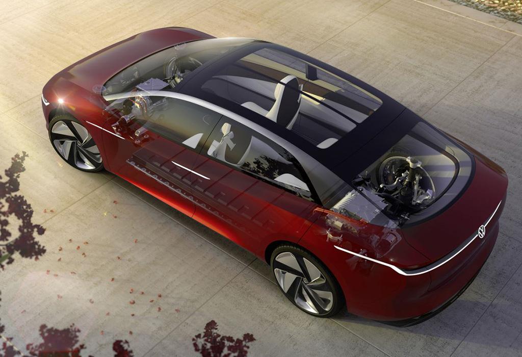 2018 Volkswagen ID Vizzion Concept Geneva