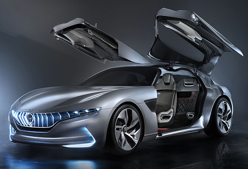 2018 Pininfarina HK GT Concept Geneva