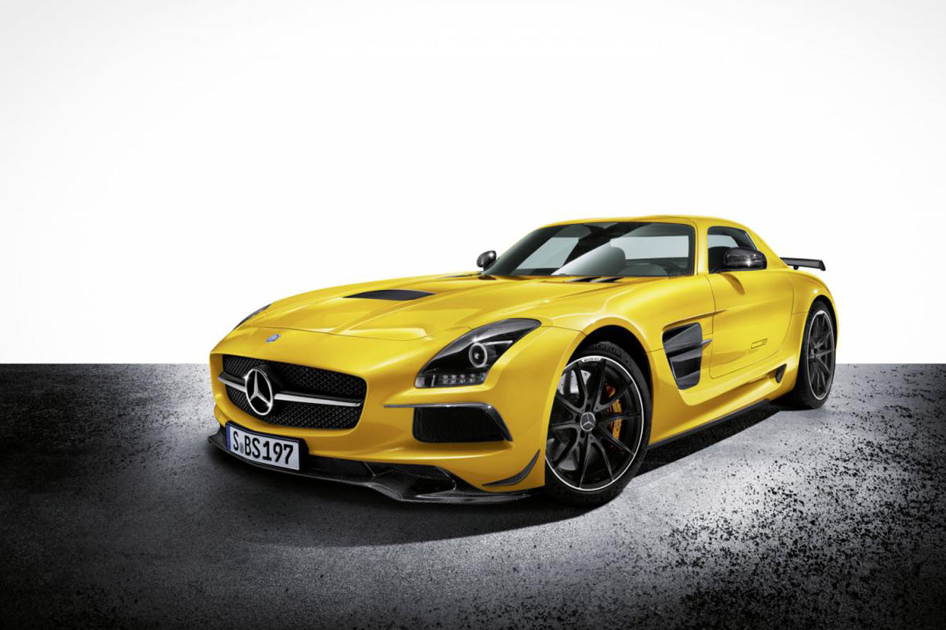 2012 Mercedes-AMG SLS Black Series