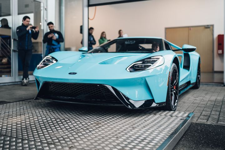 Ford GT Gulf Blue Belgium