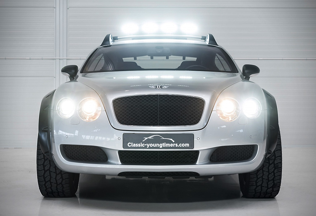 Bentley Bentayga Lijkt Een Watje Naast Deze Continental Gt