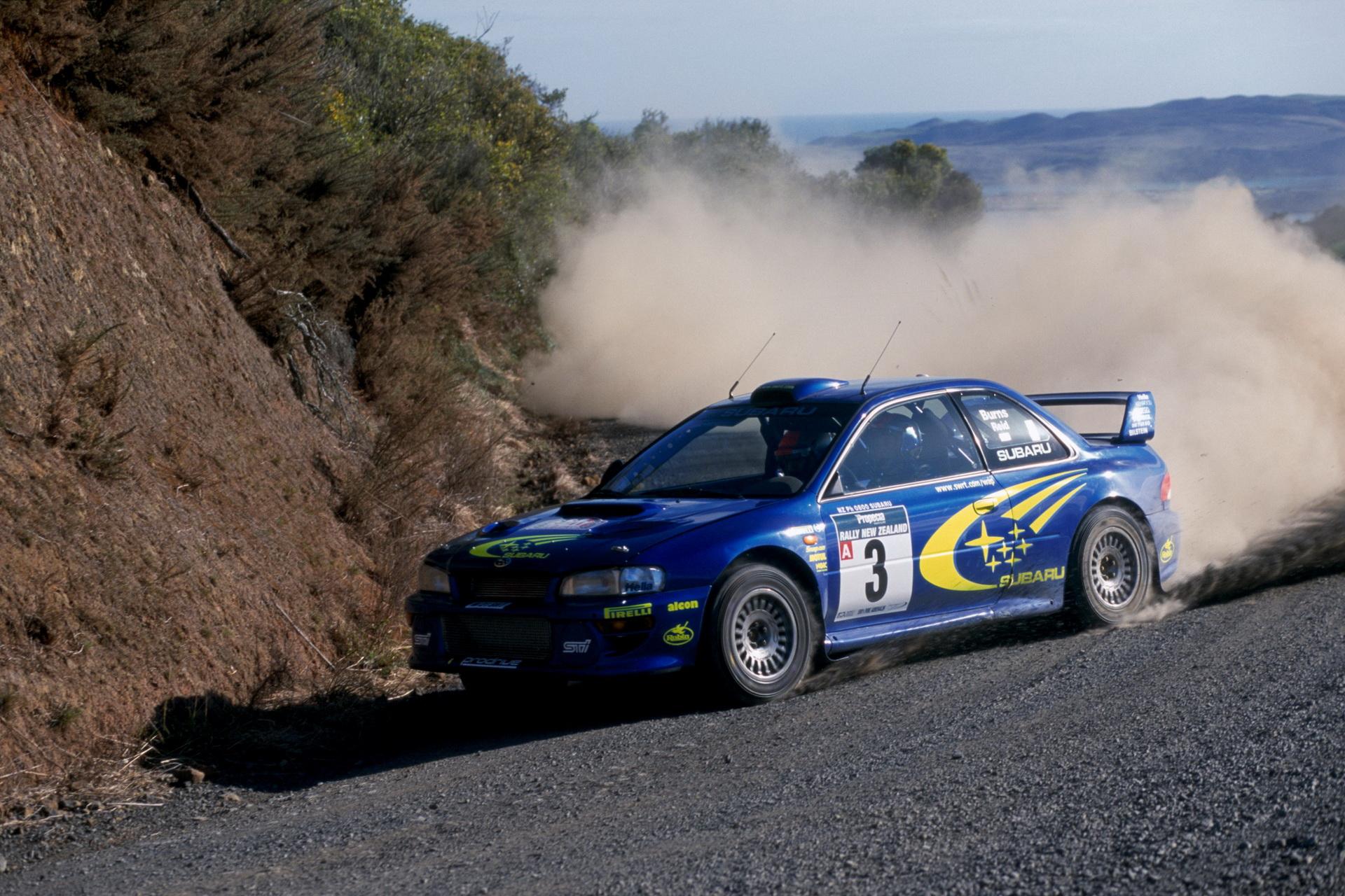 Richard Burns - Subaru Impreza STI WRC
